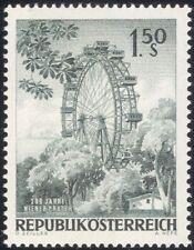 Austria 1966 Viena Noria/Feria/Ocio/Turismo/Ingeniería 1 V (at1058a)
