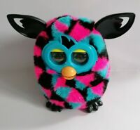 Furby Boom Triangle Design Pink Black And Blue Good Condition Fully Working