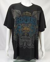 Ecko Unltd Men's Rino Logo Short Sleeve T-Shirt Black Size 3XL