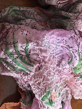 ANTROPOLOGY silk scarf, multicolored, very pretty