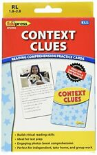 Edupress Reading Comprehension Practice Cards, Context Clues, Yellow Level (Ep62