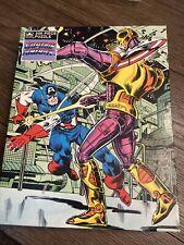 Captain America Collectibles 200 Piece Golden 1981 Jigsaw Puzzle
