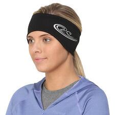 TrailHeads Women's Power Ponytail Headband -black / silver reflective