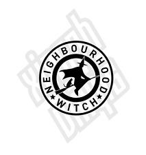 Neighbourhood Witch vinyl sticker decal funny novelty watch car window optional