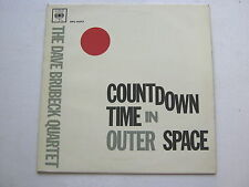 Dave Brubeck Countdown Time In Outer Space LP CBS BPG62013 EX/EX 1960s textured