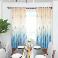 Door Window Curtain Living Room Bedroom Blackout Drape Feather Curtains Decor CP
