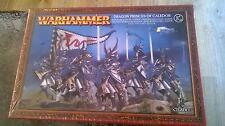 Warhammer elfos alto Dragón príncipes de miniaturas Caledor 28MM Nuevo y Sellado