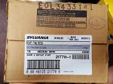 Case of 30 New Sylvania FO17/741/ECO Flourescent 17W Tube Light Bulbs 4100K T8