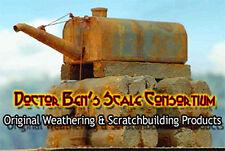 Realistic Rust Weathering Solution-4oz Doctor Ben's Scale Consortium Craftsman O