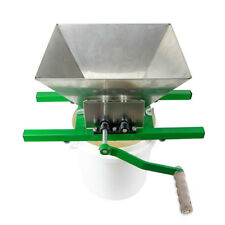 New 1.6 Gallon Fruit Wine Press Cider Apple Grape Crusher Juice Maker Tool Wood