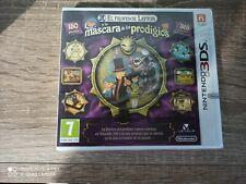 El Profesor Layton Y La Máscara De Los Prodigios Nintendo 3DS Nuevo y Precintado