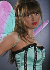Pink and Blue Glitter Butterfly Wings