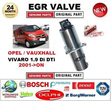 FOR OPEL VAUXHALL VIVARO 1.9 Di DTi 2001-ON Electric EGR VALVE 5PIN with GASKET