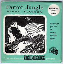 VIEW-MASTER UN-NUMBERED - PARROT JUNGLE MIAMI | Buy 3 or More For Free Shipping