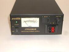 JETSTREAM JTPS32MAB 13.8VDC 30 AMP SWITCHING DC POWER SUPPLY w/ METER
