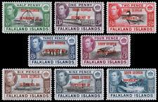 Falkland Islands- South Georgia Scott 3L1-3L8 (1944) Mint NH-VLH VF Complete Set