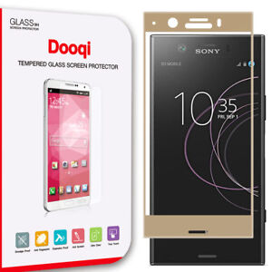 For Sony Xperia XZ1 Compact Full Cover 3D Curved Tempered Glass Screen Protector