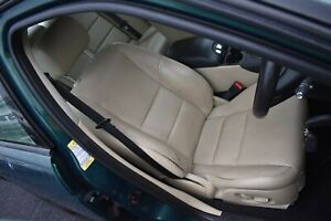 2006 JAGUAR S TYPE DRIVERS SIDE FRONT ELECTRIC SEAT - CREAM LEATHER