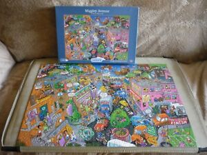 Gibson Puzzles - 1000 Piece Jigsaw Puzzle - Miggley Avenue.