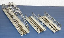 3 tlg Märklin Konvolut Brücke: 2 Stück 7162 und 7163 Metall H0 sehr gut