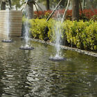 Solar Panel Powered Submersible Floating Fountain Garden Pool Pond Water Pump VV
