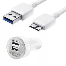 USB 3.0 Sincronización De Datos Cable cargador & coche para Samsung Galaxy Note