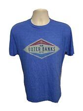 48 Outer Banks NC North Carolina Adult Small Blue TShirt