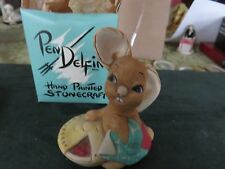 "Pendelfin Studio Made In England ""Pieface"" Easter"