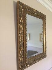 Mirror. Stunning  Ornately Carved Timber Framed Bevelled