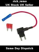 Add A Circuit Piggy Back Fuse Tap Mini Blade Fuse Holder ATM 12V (PLUS FUSE)