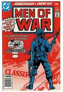 Men of War #1 High Grade Bronze Age Gravedigger*Enemy Ace