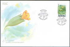 Finland Aland FDC 1999 Flower Cowslip Mint