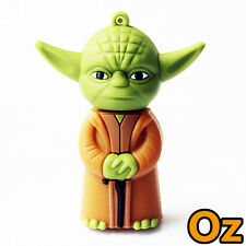 Yoda USB Stick, 8GB Star Wars Jedi Quality USB Flash Drives WeirdLand