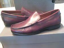"Hush Puppies men's Burgundy Loafer Shoe ""Hamilton"" Size US 8 EU 41/42 NEW"