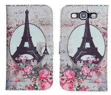 Scenery Design (1) For Samsung Galaxy S3 Leather Wallet Card Case Cover Stand