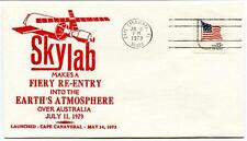 1979 SKYLAB Re-Entry in Earth's Atmosphere over Australia Cape Canaveral NASA