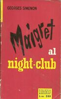 (Georges Simenon) Maigret al night club -  BEM 15 1954