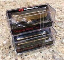 Dimarzio Richie Kotzen CHOPPER T & Twang King Pickup Gold Fender Tele Telecaster