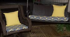 3 Pc. IRONDALE STERLIING OUTDOOR WICKER  FURNITURE REPLACEMENT CUSHION COVERS