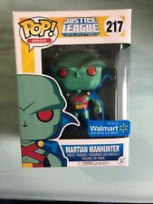 Funko POP! Martian Manhunter #217 Walmart Exclusive Justice League Unlimited