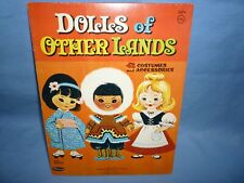 Dolls of Other Lands Paper Doll Book