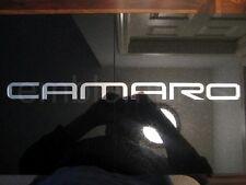 GM LICENSED, 93-02 CAMARO REAR BUMPER FILLS LETTERS LETTERING INSERTS, COLORS