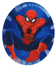 SPIDERMAN - Fly - Flicken Aufnäher Aufbügler Iron On Patch Applikation #9246