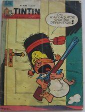 JOURNAL TINTIN N°733  RIC HOCHET /DAN COOPER/RATAPLAN 1962 BON ETAT