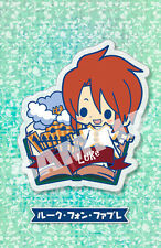 Tales of Friends Luke the Abyss Clear Brooch Pin Anime Licensed NEW