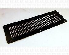 Large Guitar Amplifier Black Steel Metal Grille Vent 10.25 X 3.4 Inches