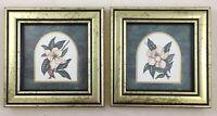 "A. Renee Dollar Pair Miniatures - Fragrant Findings & Solitary Splendor 4"" X 4"""