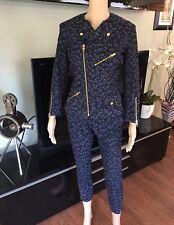 Louis Vuitton Runway Denim Pants Jeans & Jacket 2 Piece Set Pantsuit Sold Out!!