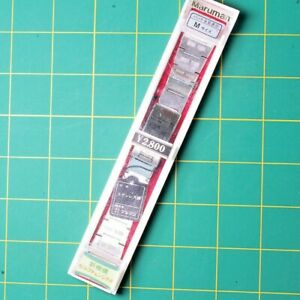 VINTAGE NOS 18MM-21MM MARUMAN 5BS40 WATCH BRACELET / BAND STAINLESS STEEL JAPAN