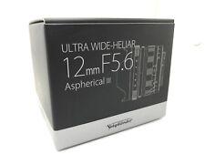 NUOVO Voigtlander Ultra Wide-Heliar 12mm f/5.6 lenti asferiche III SONY E Mount